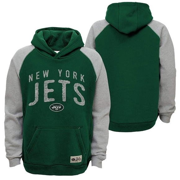 6b8627db NFL New York Jets Boy Foundation Hoodie Sweatshirt